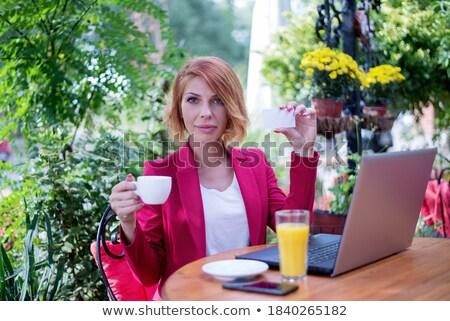 Stok fotoğraf: Iş · bayan · sarışın · iş · kadını · Dosyaları