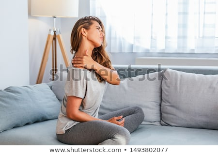 Stock photo: Back Pain In Human Body