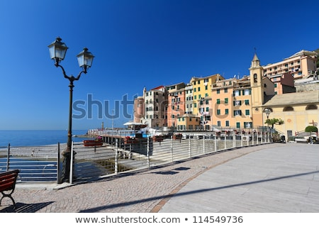 beach and promenade in sori stock photo © antonio-s