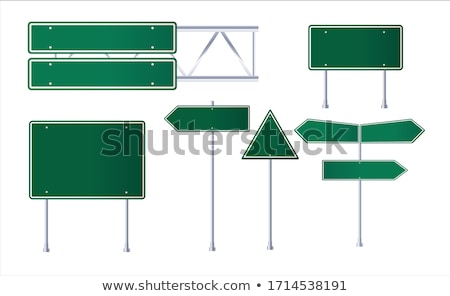 Foto stock: Road With Highway Sign