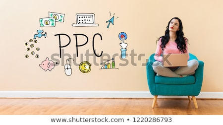 PPC (Pay Per Click)  Concept. Stock photo © tashatuvango
