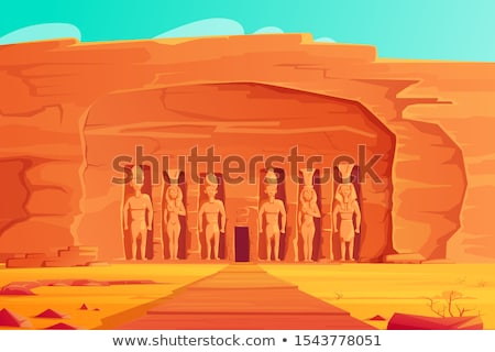 The Small Temple of Abu Simbel, Egypt Stock photo © TanArt