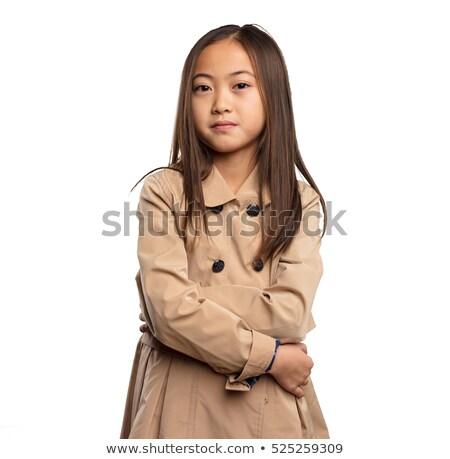 Сток-фото: сердиться · девочку · школы · глазах · ребенка