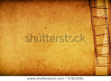 35mm csúszda űr kép szöveg film Stock fotó © latent