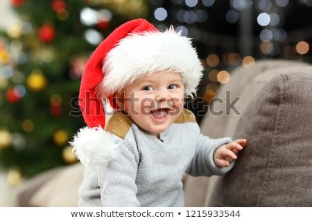 çocuk gülme yatay görüntü Stok fotoğraf © gewoldi
