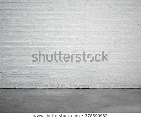 White wall in the bright ancient room Stock photo © konradbak