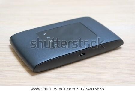 Taşınabilir wifi teknoloji vektör soyut dizüstü bilgisayar Stok fotoğraf © burakowski