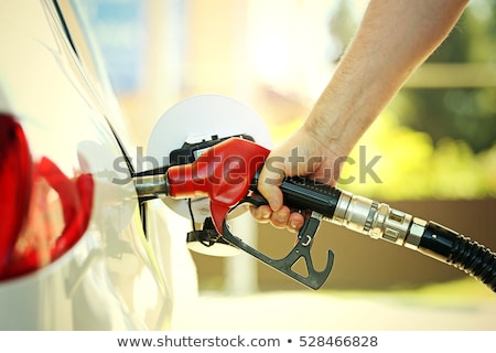 man · auto · brandstof · business · olie - stockfoto © neirfy