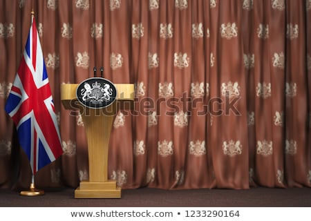 министр красный белый прав Boss Сток-фото © chrisdorney