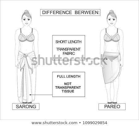 Beautiful girl in diaphanous skirt Stock photo © fotorobs