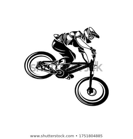 downhill stock photo © hochwander