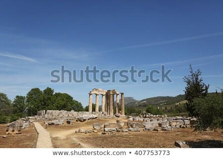 Antica tempio costruzione cielo blu Europa Foto d'archivio © ankarb