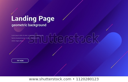 landing page concept on digital background stock photo © tashatuvango