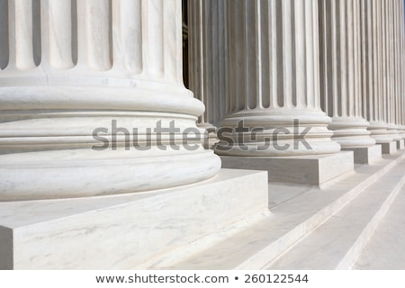 Supreme Court Column Details Stock photo © ambientideas