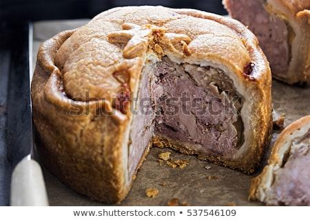 Frescos cerdo pie ensalada cena color Foto stock © raphotos