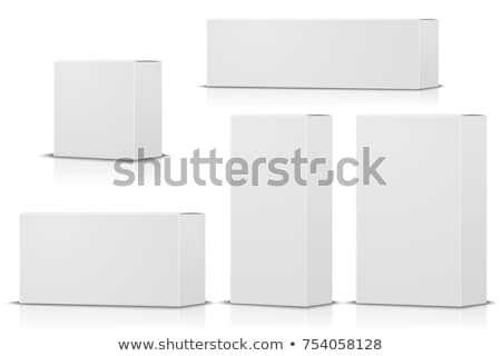 Storage Concepts - Set of 3D Isolated on White Background. Stock photo © tashatuvango