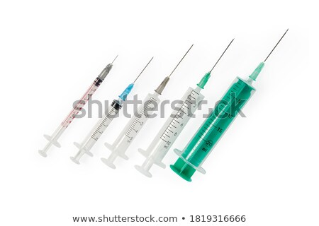 Syringe,  needle, system Stock photo © Pruser