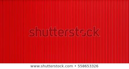 red corrugated Stock photo © njaj