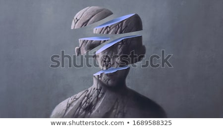 Dentro depressão sentimentos saúde mental Foto stock © Lightsource