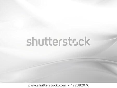 abstract grey pearl smooth waves stock photo © saicle