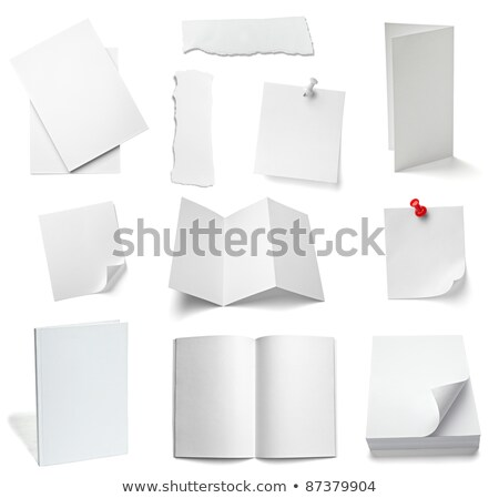 File cards A and Z Stock photo © pixpack