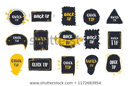 Conseils note homme d'affaires jouets affaires affaires Photo stock © fuzzbones0