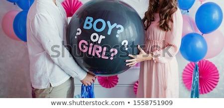 Balloons Gender Reveal Stock photo © lenm