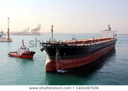 schip · Open · zee · natuur · oceaan · horizon - stockfoto © srnr