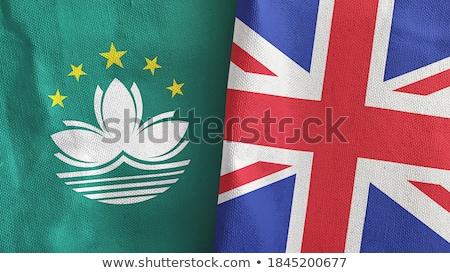 Великобритания флагами головоломки изолированный белый бизнеса Сток-фото © Istanbul2009