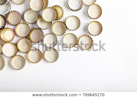 Beer bottle caps heap as background Stock photo © stevanovicigor