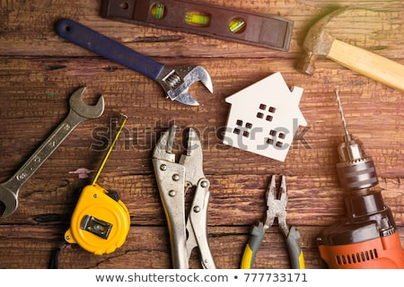 Home Repairing plan Stock photo © devon