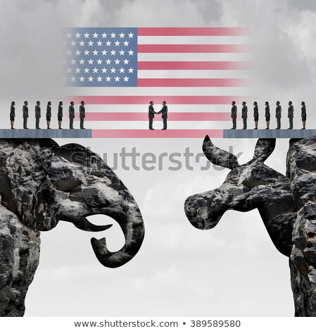 American Conservative Agreement Stock photo © Lightsource
