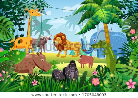 носорог высокий качество дизайна природы Сток-фото © ridjam