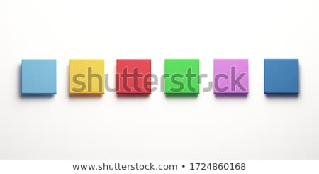 Coloured boxes Stock photo © bluering