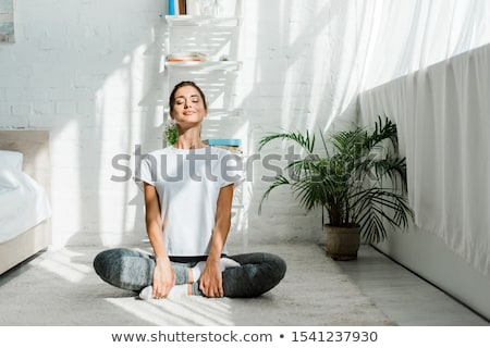 Yoga In The Morning stock photo © MilanMarkovic78