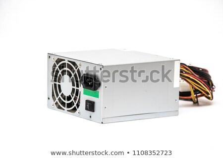 Close up of a computer power supply Stock photo © njnightsky