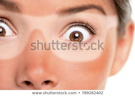 面白い 太陽 日焼け止め剤 実例 美 画面 ストックフォト © adrenalina