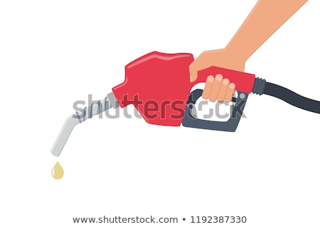 Oil industry and energy yellow fill icons Stock photo © ConceptCafe