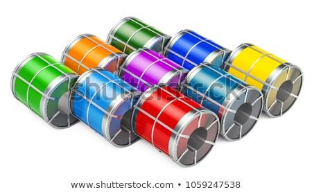 prepainted galvanized coils stock photo © mady70