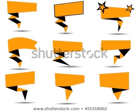 Knoppen rechthoekig illustratie achtergrond ruimte Rood Stockfoto © bluering