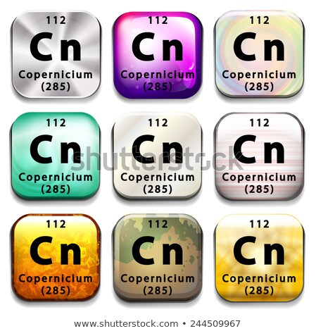 Düğme eğitim beyaz kimya Stok fotoğraf © bluering