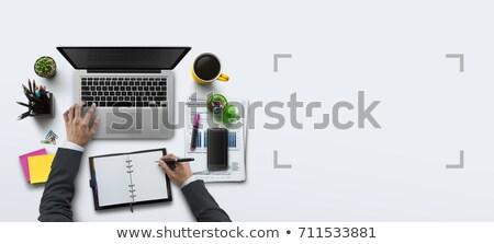 開始 · アップ · 文字 · 帳 · 手 · 電卓 - ストックフォト © fuzzbones0