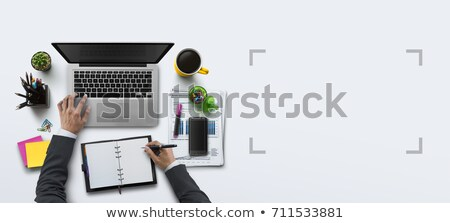 Start Up text on notepad Stock photo © fuzzbones0