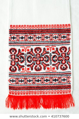 Ukrainian embroidery ornament Stock photo © day908