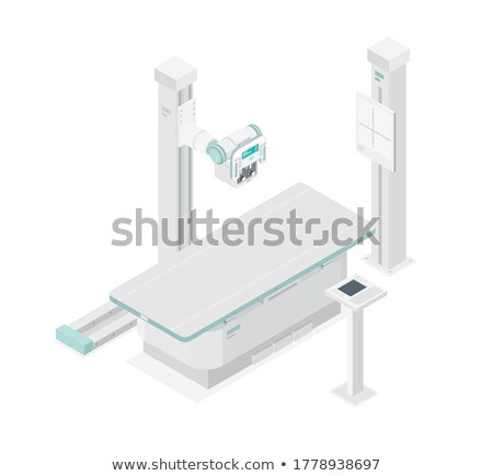 Kórház mri szkenner röntgen beteg előkészített Stock fotó © vilevi