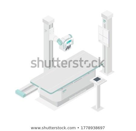 Ziekenhuis mri scanner Xray patiënt bereid Stockfoto © vilevi
