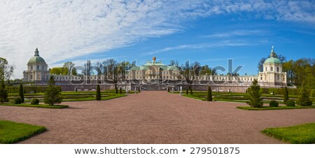 Fragment of Menshikov palace in Oranienbaum, Russia stock photo © serpla