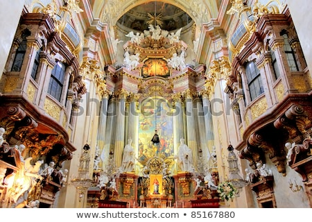Bécs · Ausztria · templom · napos · nyár · nap - stock fotó © Estea