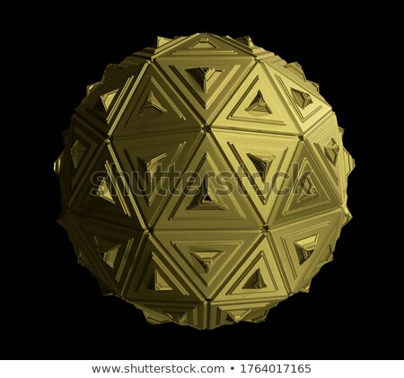 Factory Automation on the Golden Gears. 3D Illustration. Stock photo © tashatuvango