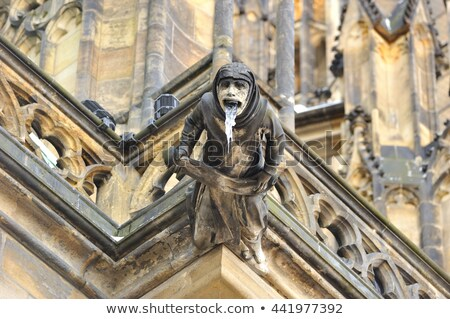 St. Vitus Cathedral Gargoyles Stock photo © LucVi
